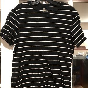 H&M striped t shirt